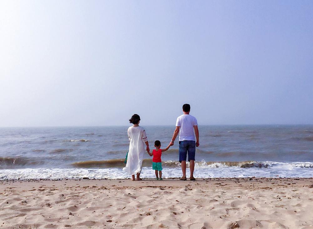 绥中盘锦滩红海海边玩法游-盘锦v玩法石头-亲子游戏《攻略剪刀布》的游记图片