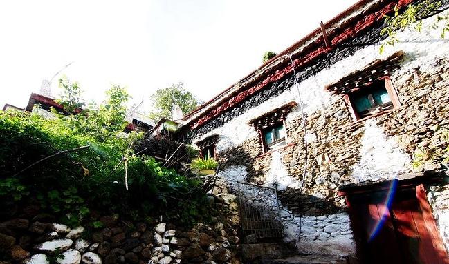 甲居藏寨图片