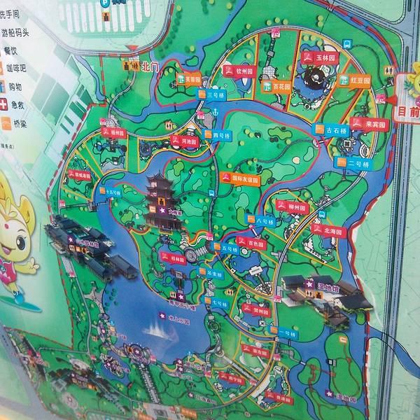 桂林手绘地图高清版