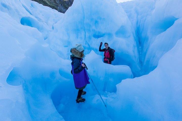 """""""最后活生生的把我包成了一个企鹅_福克斯冰川""""的评论图片"""