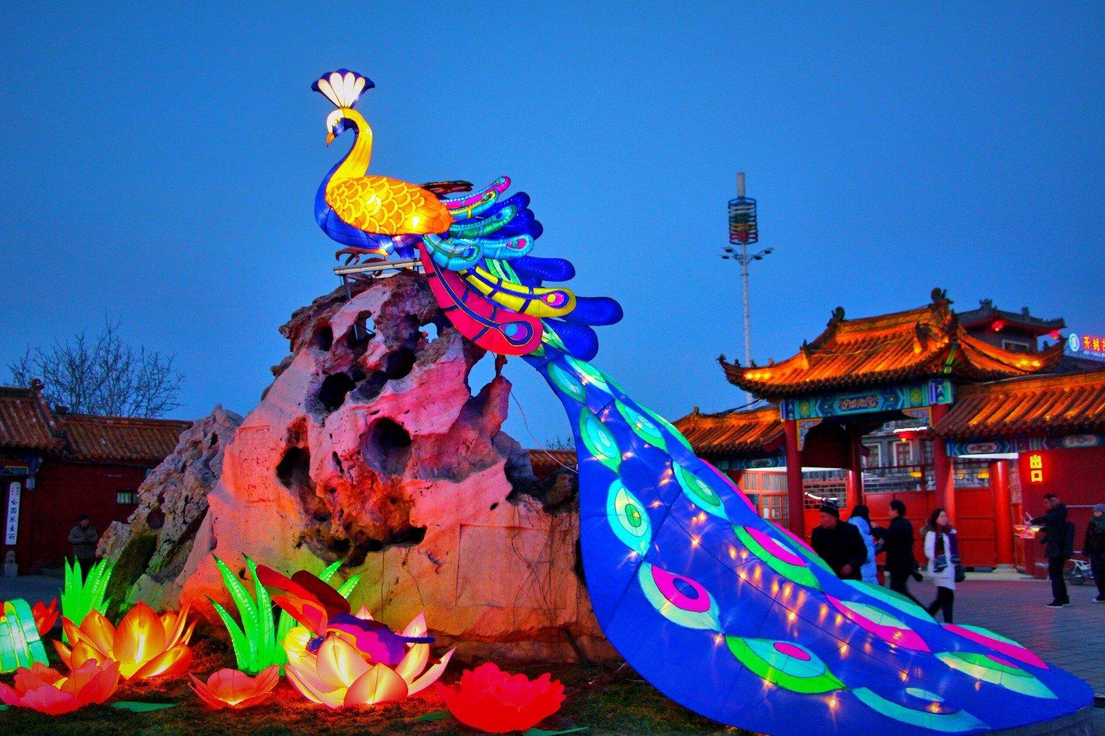 开封大宋上元灯会 穿越千年梦回汴京城