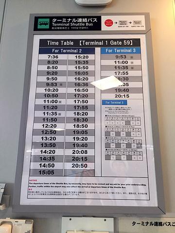 随后,到达东京成田机场第一航站楼.