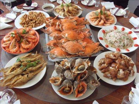 美食之旅广州手绘地图
