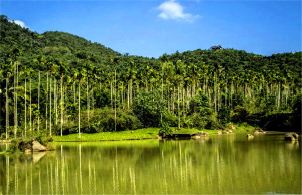 綠水青山,多美好的風景線呀.