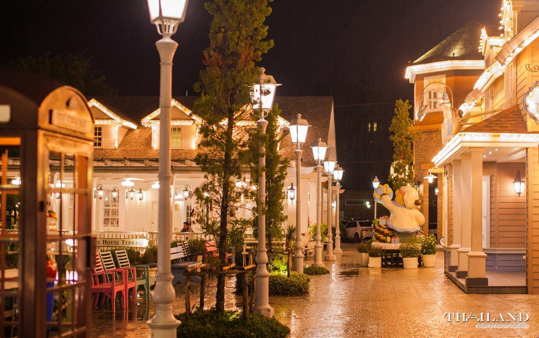 欧式商业街 彩灯