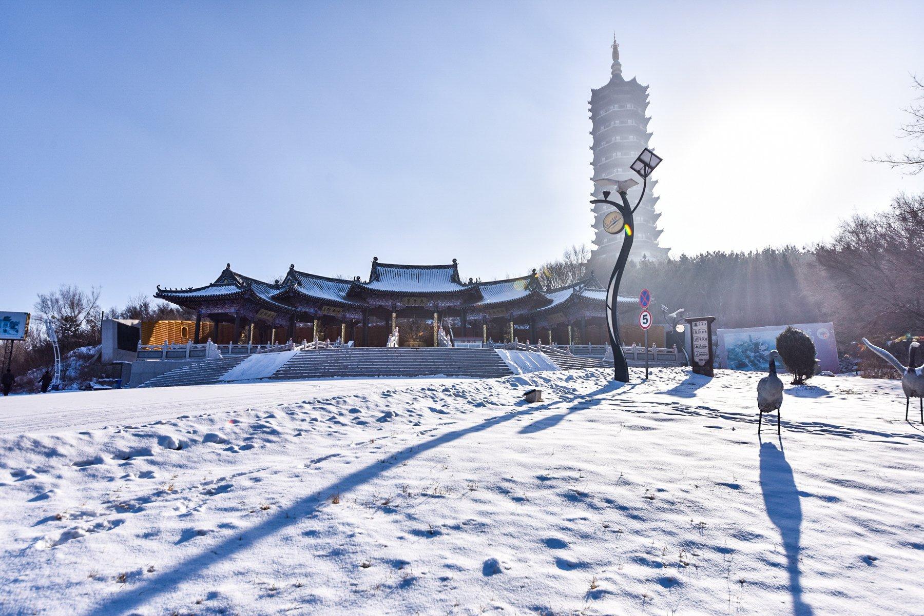 沈阳的雪,承载了盛京所有的情调和雅韵