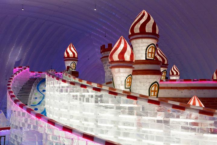 """进入了室内_哈尔滨冰雪大世界室内冰雪主题乐园""""的评论图片图片"""