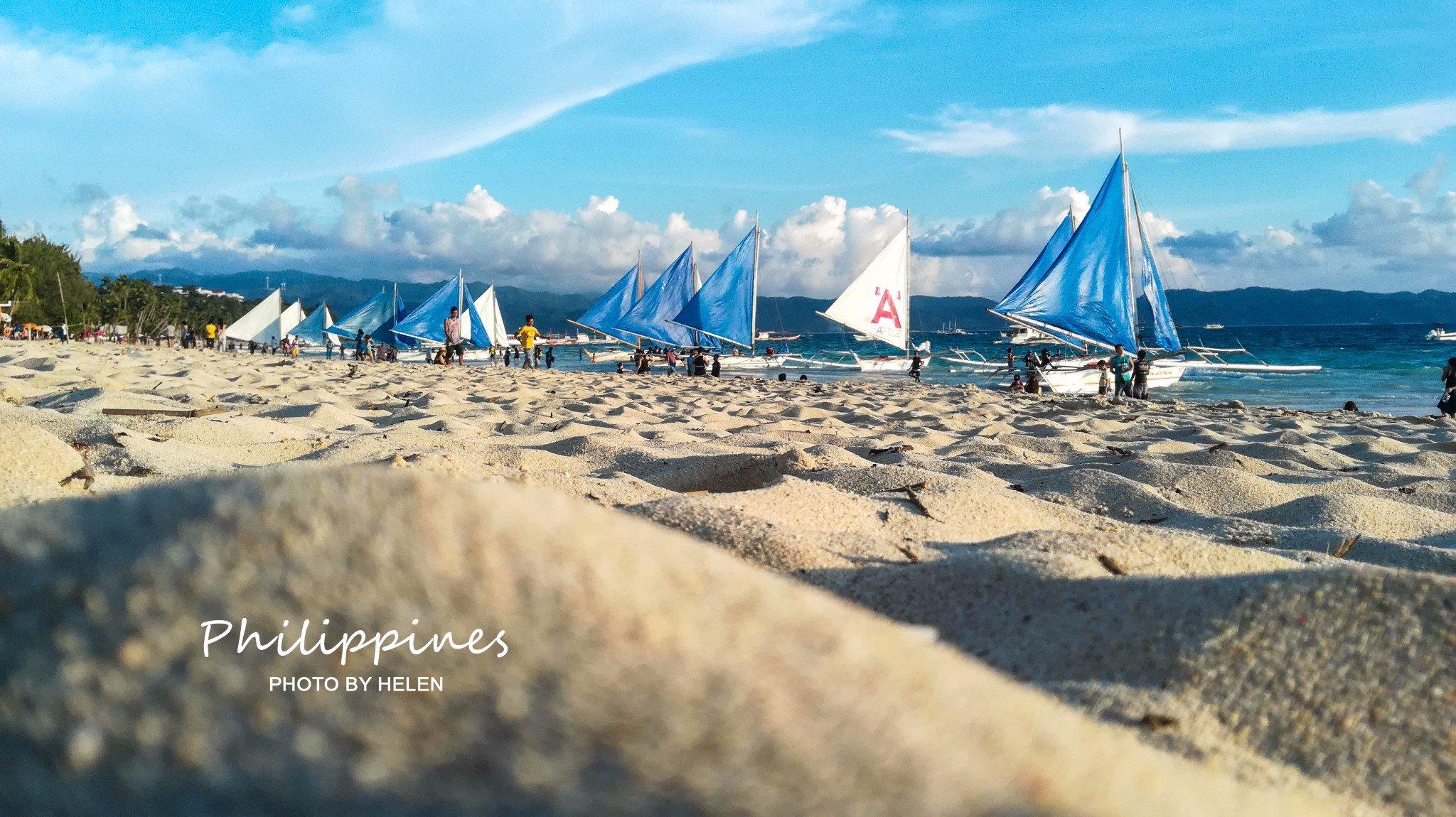 ❀背锅去旅行的大小M穷游系列❀14天5000元穷游菲律宾,从长滩岛到杜马盖地