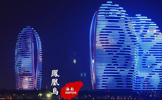 """三亚凤凰岛号称""""中国的迪拜"""",""""东方的迪拜"""",是在大海礁盘之中吹填出"""