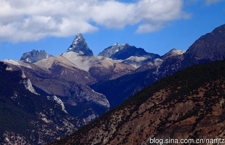 白马雪山沿途