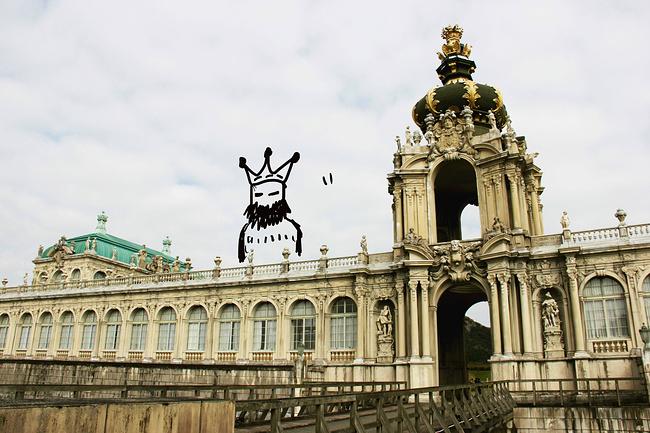 整个欧式风格的建筑