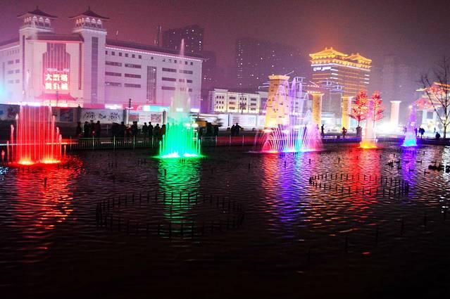 大雁塔音乐喷泉旅游攻略