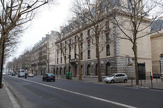 巴黎街景图片