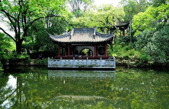 上海五大古典园林之一古猗园