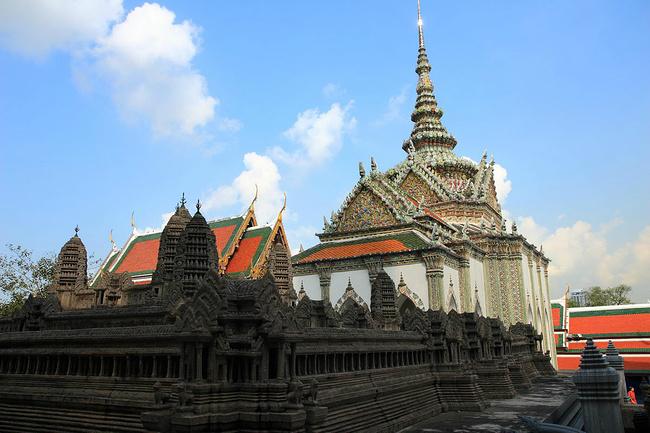 泰国大王宫木制仿真模型拼装步骤图