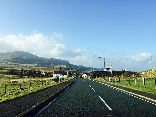 路_路上风景图片