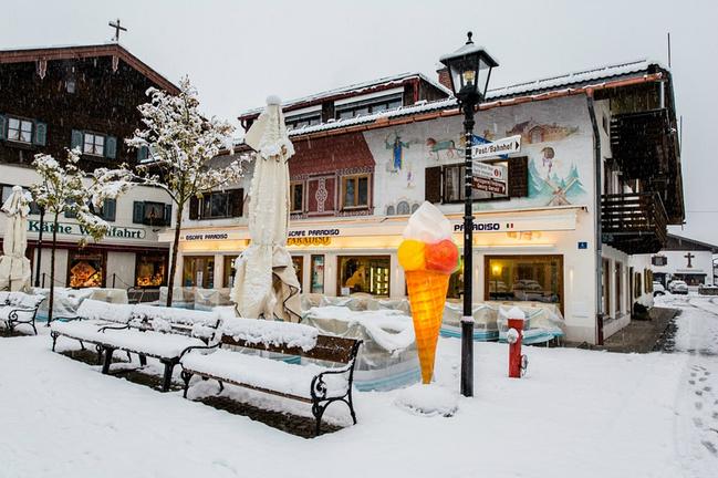 去看德国的冬天:欧洲奥地利_因斯布鲁克v攻略攻略悍游戏攻略光妃橙神医图片