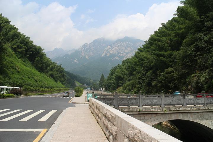 """""""所以非常贵步行即可来到汽车西站_黄山风景区""""的评论图片图片"""