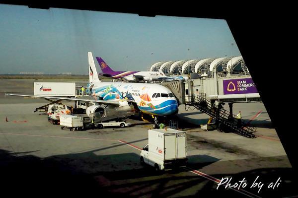 泰国初印象——飞机场图片