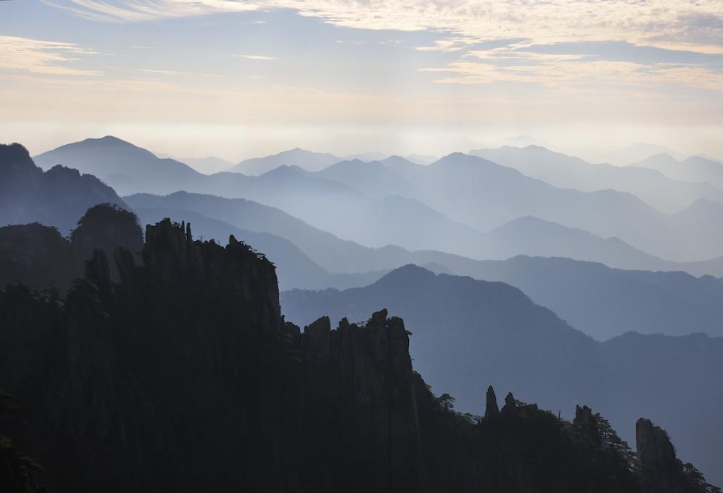 登高望远-黄山自由行