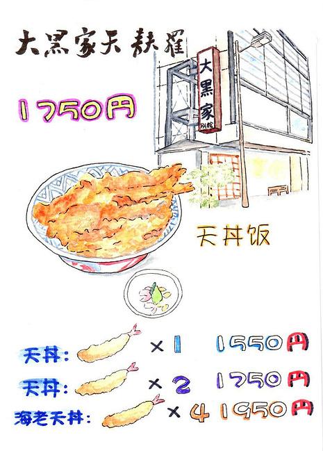 小饕北国美食の旅 手绘游记_东京旅游攻略_自助游攻略