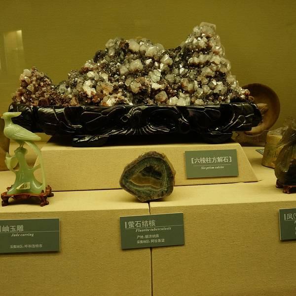 内蒙古博物馆的展厅大楼造型别致