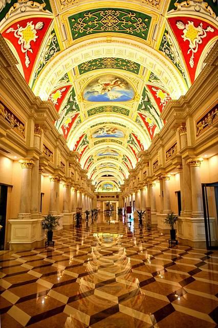酒店大堂走廊