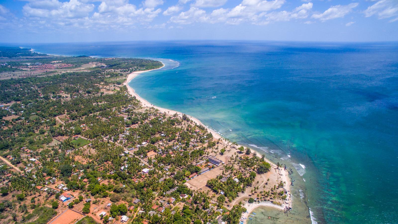 印度洋上的热带岛国