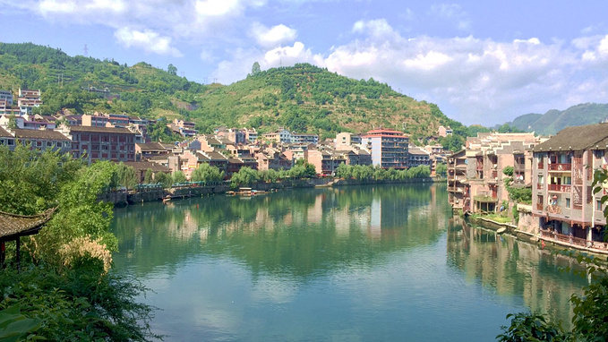 黔东南旅游攻略 闲人游记之黔东南探宝  镇远是一个很有故事的小城