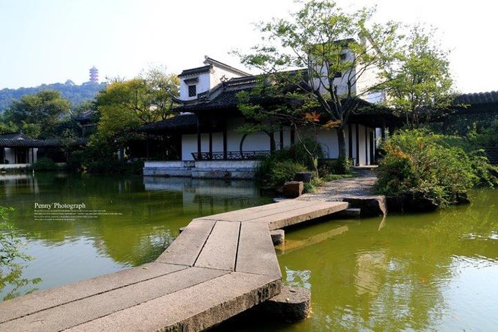 惠山典型离锡惠古镇文物名胜区并不远,同样也是一片风光赵县园林.江南广告设计图片