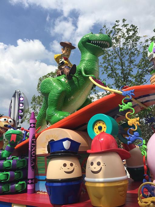 上海迪士尼梦幻之旅动物园亲子游