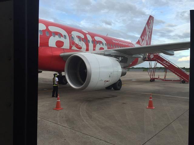 亚航的飞机