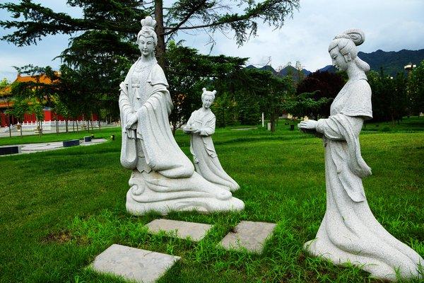 雕塑传承设计图