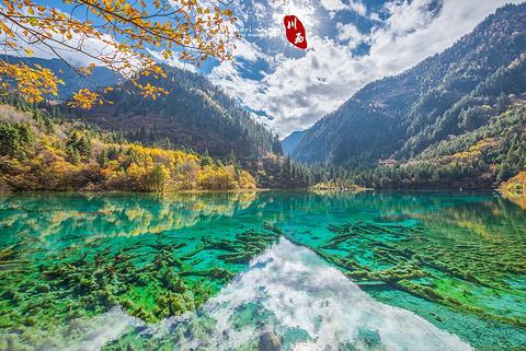 九寨沟风景区的图片