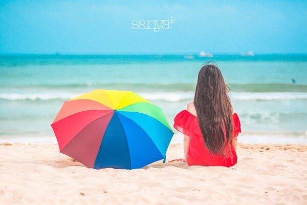 海边微风起,等风也等你  带着闺蜜去三亚吹吹北纬18度的风