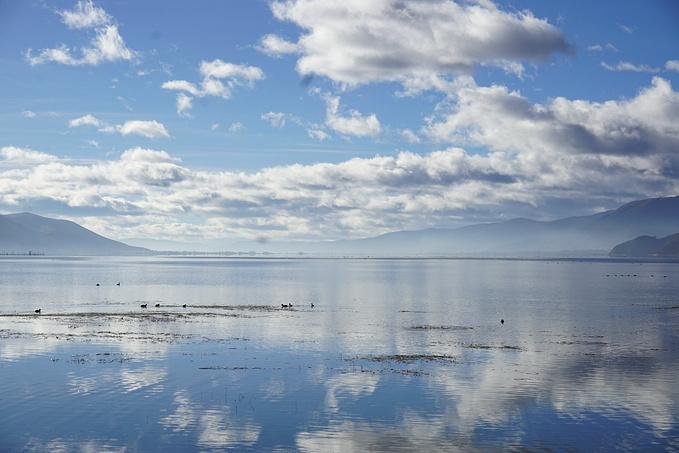 香格里拉旅游攻略 冬季的彩云之南,美輪美奐  2017年11月18日,納帕海