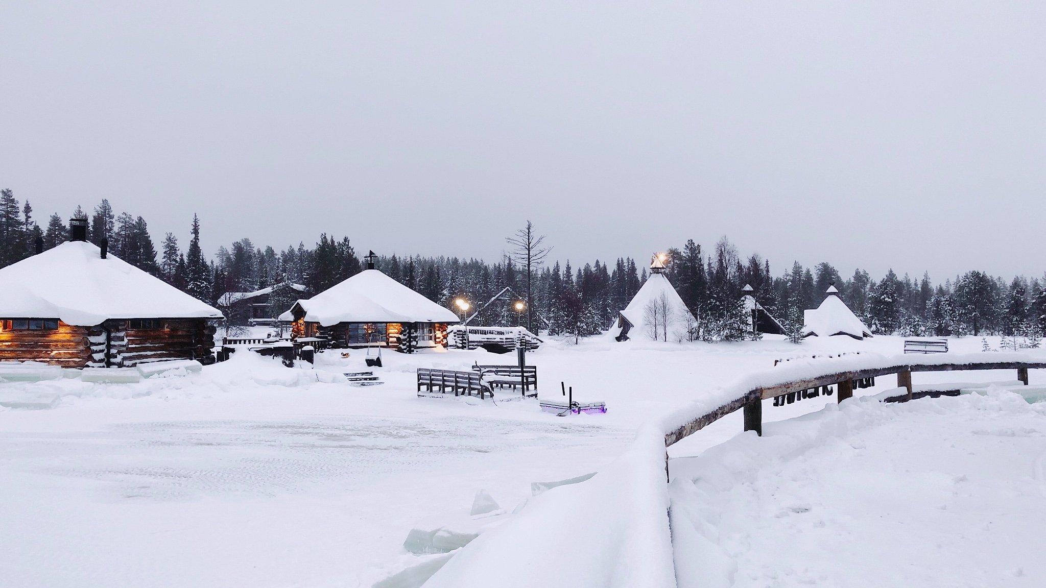 【芬兰新年篇】爱上这片冰天雪地 跨越6680公里来到北极圈邂逅极光女神