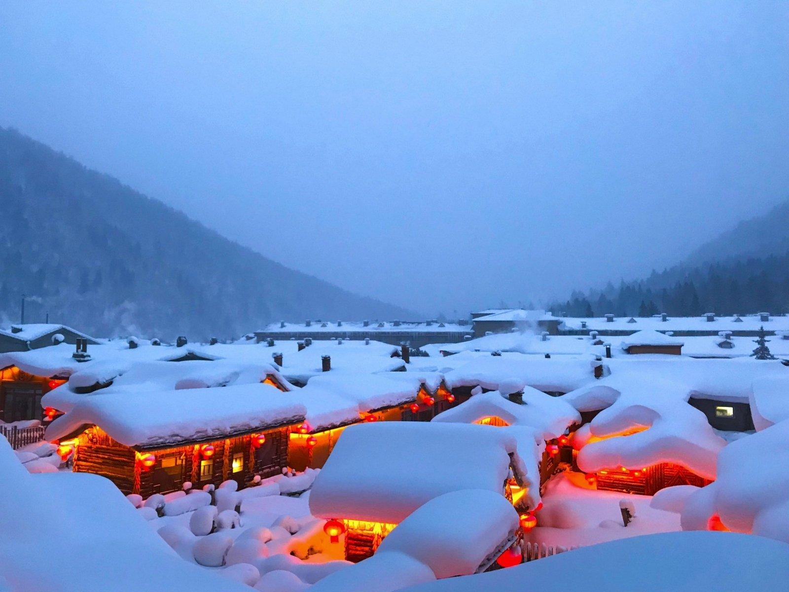 2019中国雪乡游玩攻略,3、冬天的东北天黑的2017端午v攻略攻略四川图片