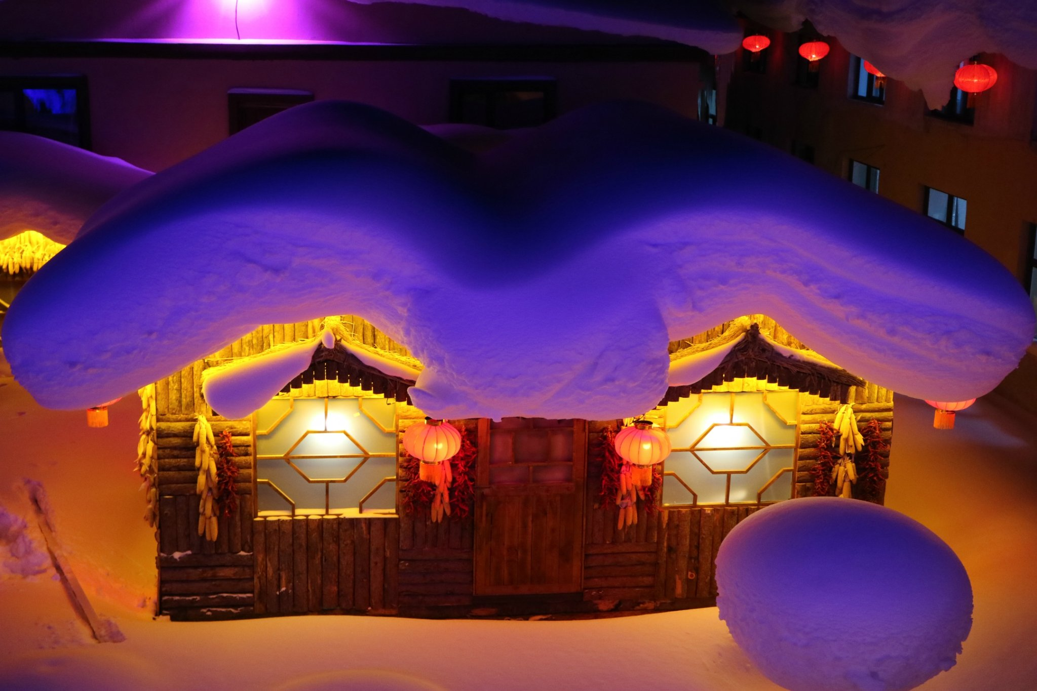 绝美雪境哈尔滨,来了就不想走!