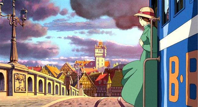 宫崎骏的所有动画片_宫崎骏动画片《哈尔的移动城堡》