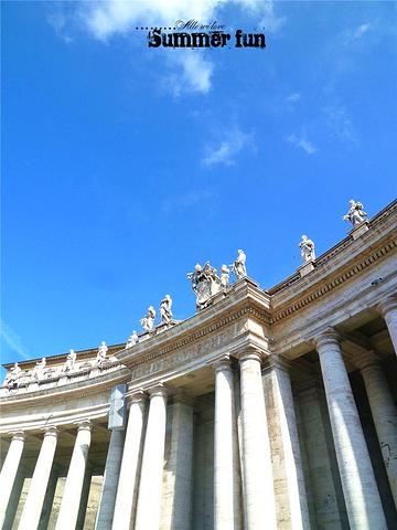 2015圣彼得大教堂正前的露天广场就是闻名世界的 圣彼得广场评论