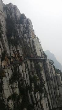 充分领略嵩山的美丽,有人从书页寨入口走到三皇崖这边离少林寺近的v书页会攻略的人图片