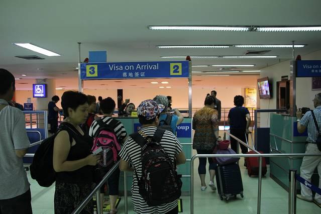 泰国飞机上填表