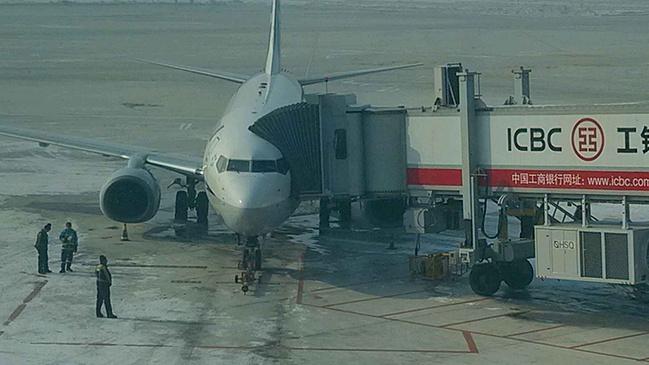 日本飞机上的中国空姐图片