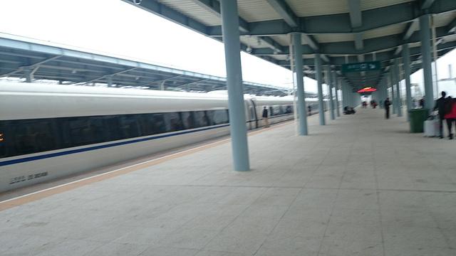 坐上高铁去贺州