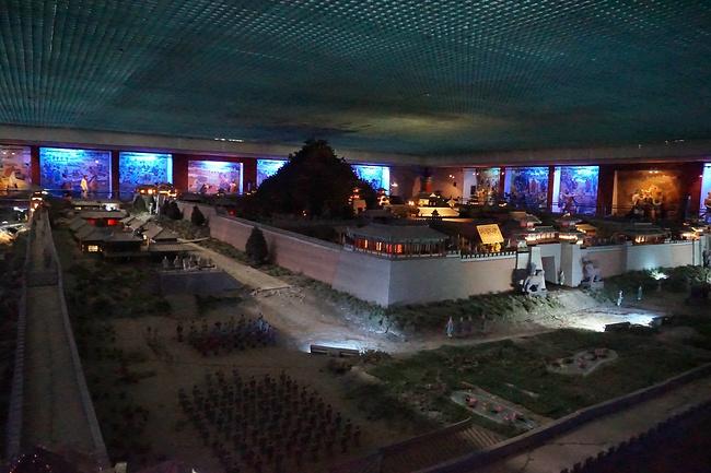秦陵地宫展览馆图片