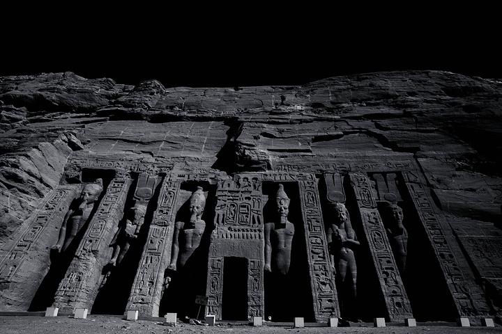 建造的阿布辛贝神庙 在埃及 阿布辛贝神庙评论 去哪儿攻略社区