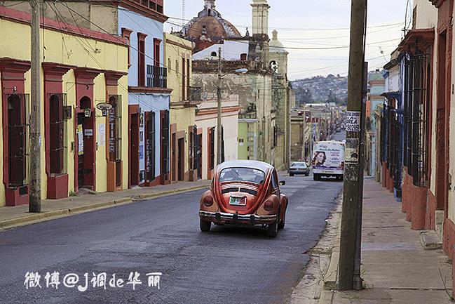 复古的色彩感极强的甲壳虫无疑为色彩国度墨西哥血液注入了冉冉不绝的