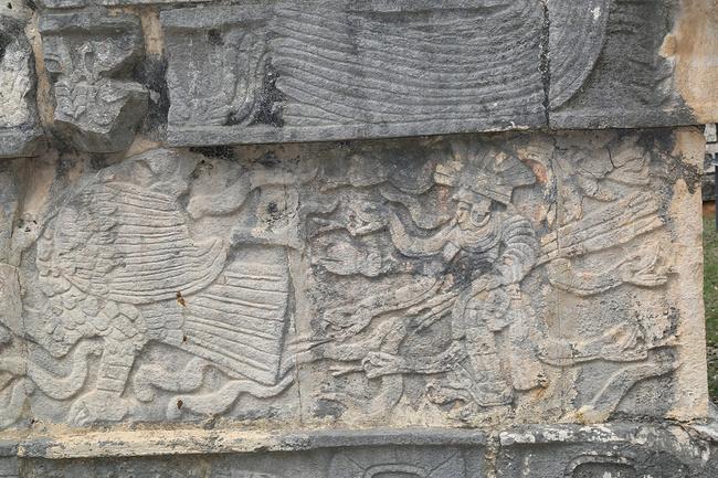墨西哥羽蛇神金字塔图片
