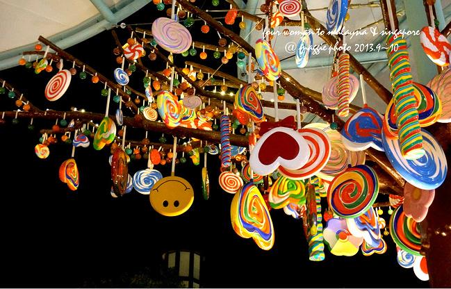 地球的对过就是亚洲最大的糖果商店,有很多很多的糖果树